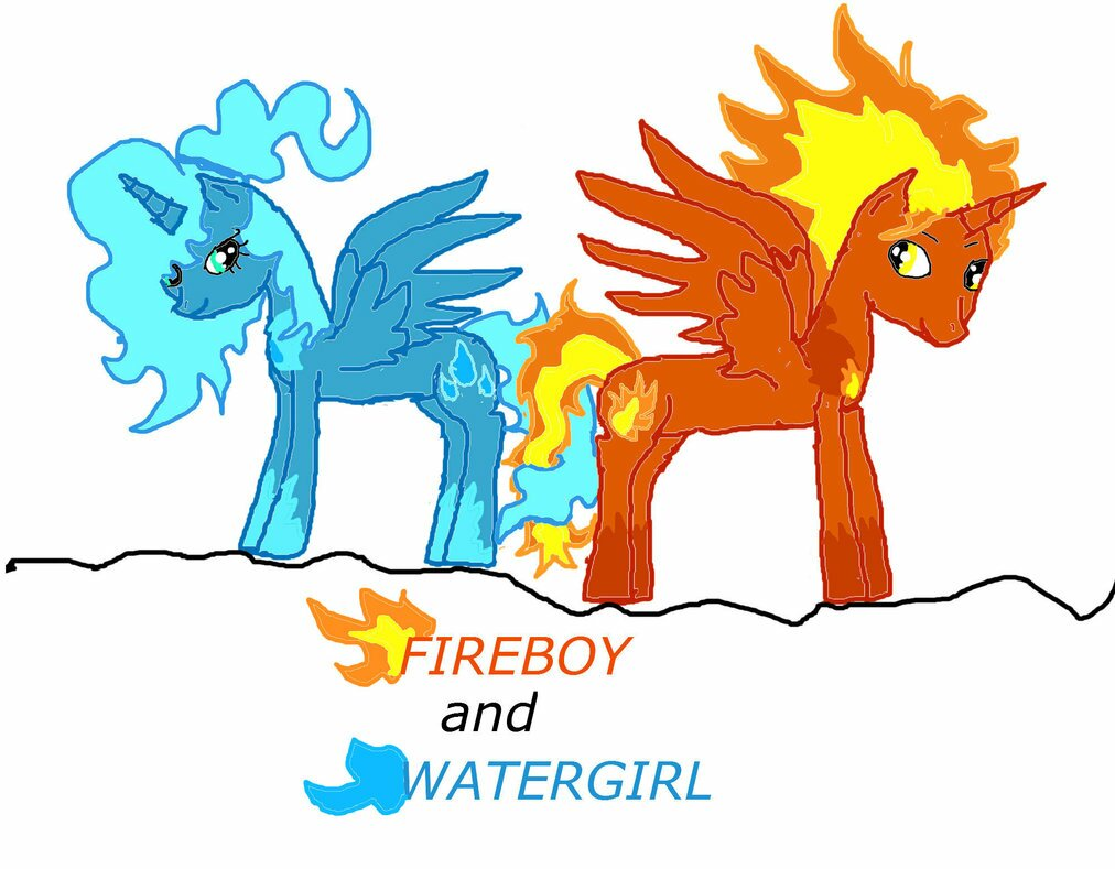Fireboy And Watergirl Warrior Fight